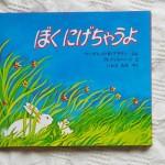 子育てが少し落ち着いたママにも読んで欲しい絵本 「ぼく にげちゃうよ」